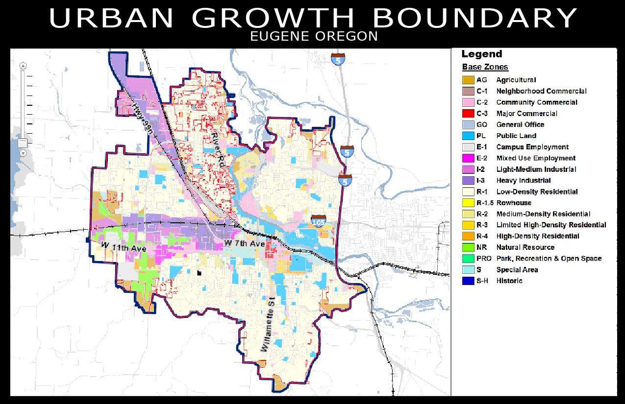 urban growth These maps depict city boundaries as well as urban growth area boundaries ( 2015.