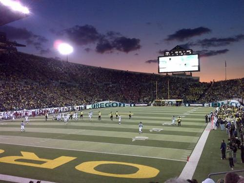 Autzen Stadium - Eugene, Oregon